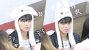 190112 팔랑이 토끼모자 쓴 구준회 cute JUNE, Rabbit hat 아이콘 iKON Im OK 팬사인회 편집직캠 Edited fancam 50689