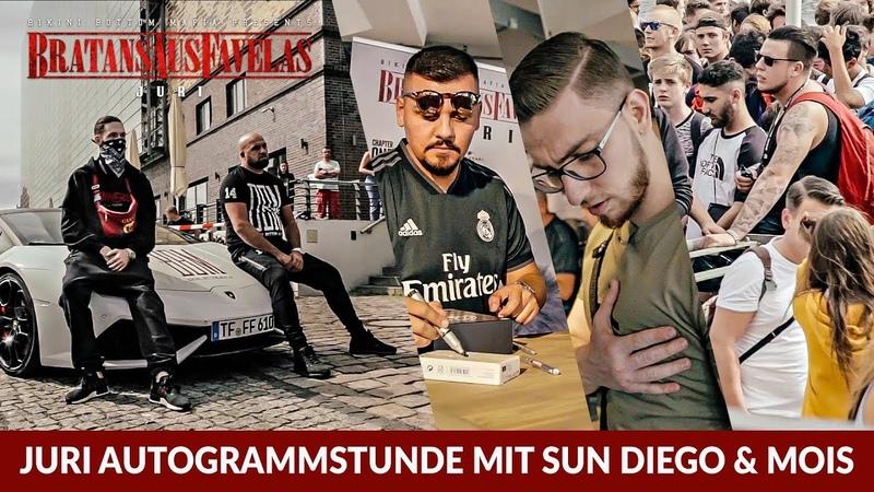 JURI - Bratans aus Favelas Autogrammstunde mit Sun Diego Mois in Berlin