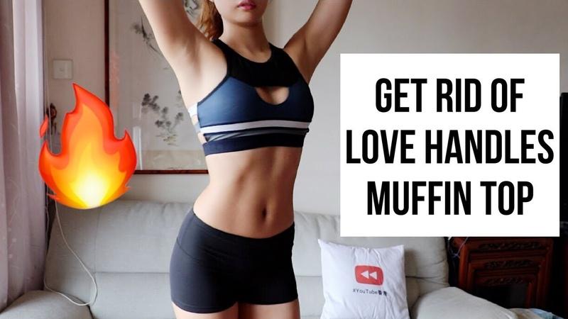 10-минутная тренировка для избавления от жира на боках и ребрах. 10 MIN GET RID OF SIDE BELLY FAT LOVE HANDLES MUFFIN TOP WORKOUT