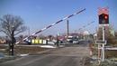 Spoorwegovergang Rožďalovice (CZ) Railroad crossing Železniční přejezd