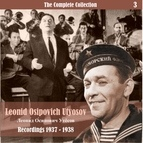Леонид Утёсов альбом The Complete Collection / Russian Theatrical Jazz / Recordings 1937 - 1938, Vol. 3