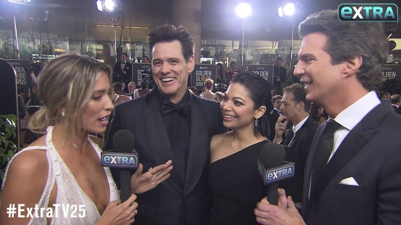Jim Carrey Ginger Gonzaga Are Dating — See Their Golden Globes Debut!
