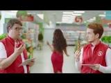 Ольга Бузова в рекламе «Пятёрочки»