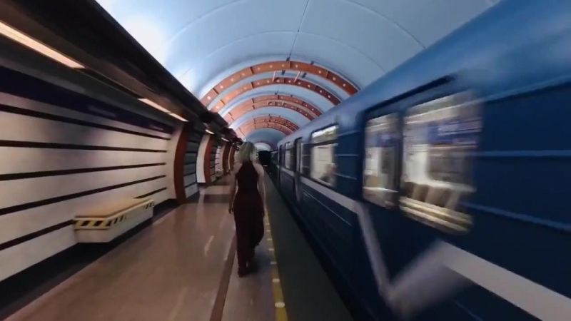 Метро Санкт-Петербурга. Красивый ролик о петербургской подземке. (08.08.2018)