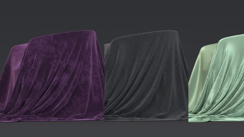 Tutorial No 112 How to create Silk Cotton Velvet and other fabric shaders in Arnold and 3ds Max