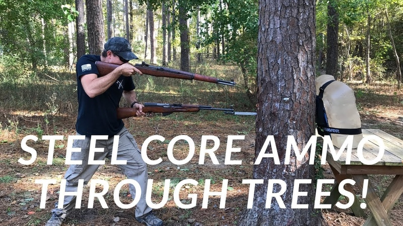 Shooting Through Trees with Steel Core Ammo PUBG in Real Life Continued