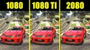 GTA 5 RTX 2080 Vs GTX 1080 TI Vs GTX 1080 Frame Rate Comparison