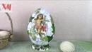 Делаем БОЛЬШОЕ яйцо из пеноплекса Big egg from expanded polystyrene ХоббиМаркет