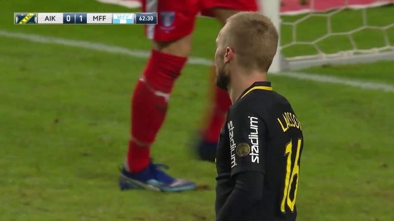 Швеция 2018 27 тур 29 10 AIK Solna Malmo