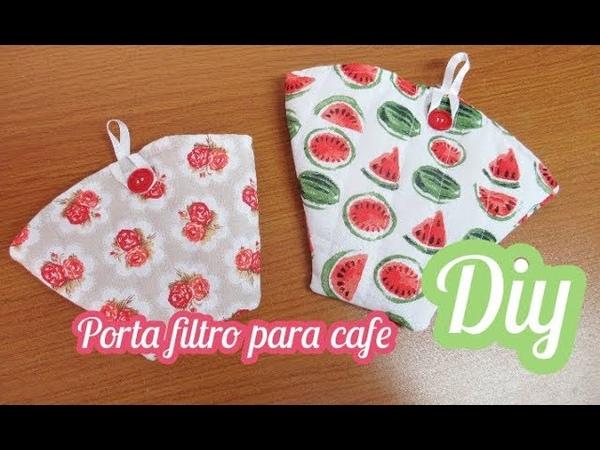 PORTA FILTRO DE CAFÉ - DIY - Coffee filter holder