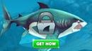 Прохождение Hungry Shark World - Открываю БОЛЬШУЮ БЕЛУЮ АКУЛУ Great White Shark на последние $$$