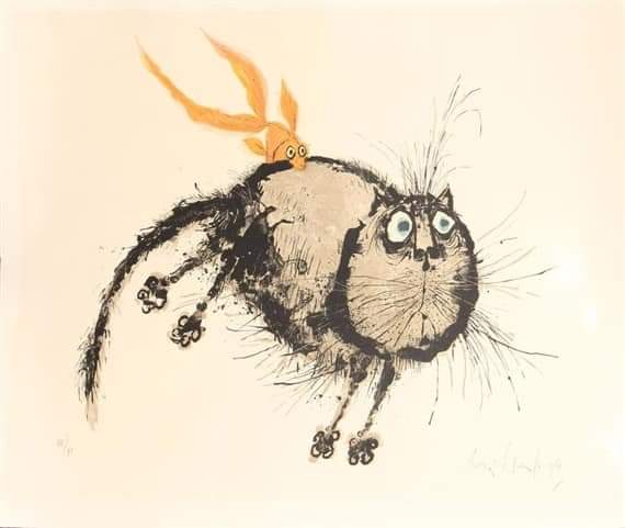 Рональд Сирл - карикатурист, опередивший время Сирл Рональд (Searle Ronald), английский художник и карикатурист. Родился в 1920 г. в Кембридже.Сценарист, художник-постановщик, художник по