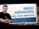 AO VIVO - Análise Combinatória