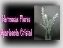 Hermosas flores apariencia cristal ( F y R ) | Los Hobbies de Yola