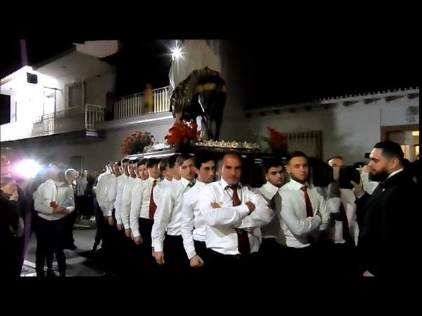 Procesion Viernes de Dolores 2018 Pollinica ALHAURIN de la TORRE Finca El Porton 23 03