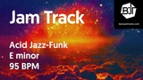 Acid Jazz-Funk Jam Track in E minor 95 BPM