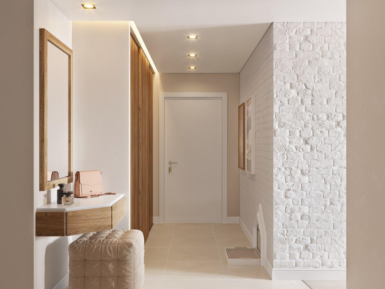 Дизайн интерьера квартиры в Питере от студии «А Б»