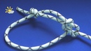 Как вязать булинь Морские узлы Беседочный узел