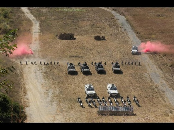 Presidente Maduro supervisa ejercicios de combate de la Guardia Nacional Bolivariana