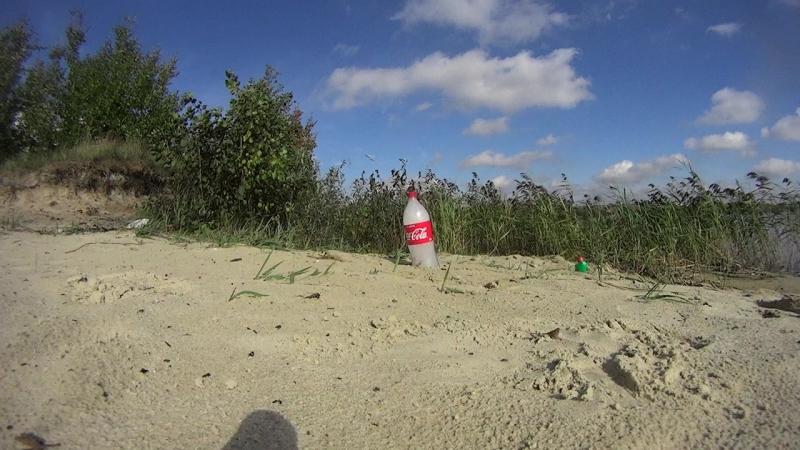 Кока-кола легла и взорвалась