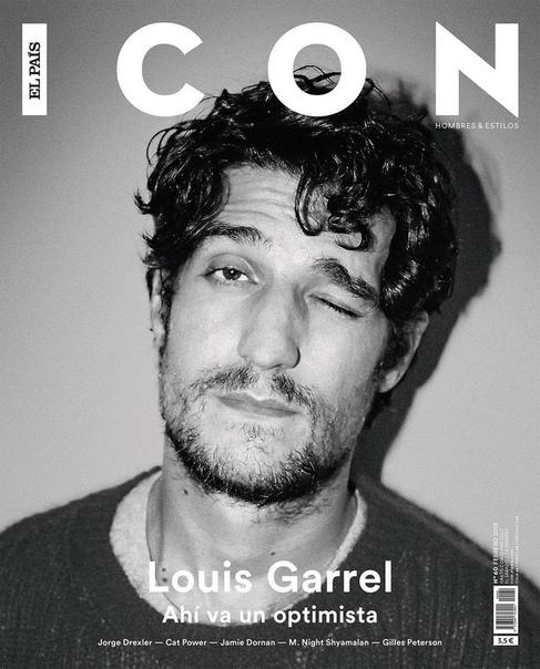 Louis Garrel ICON El Pais, 2019