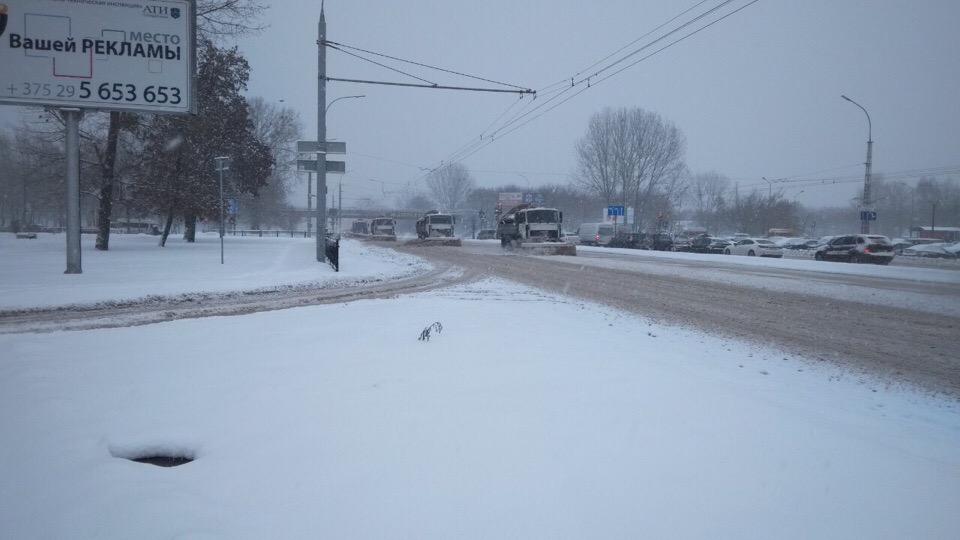 Обращение ГАИ г. Бреста к водителям города в связи с погодными условиями
