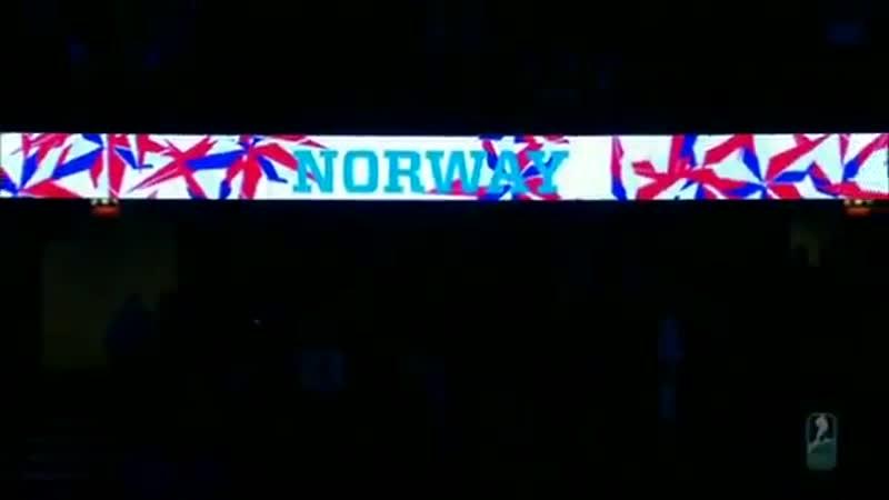 Показываем как на самом деле должен был звучать гимн Норвегии @norskishockey на турнире