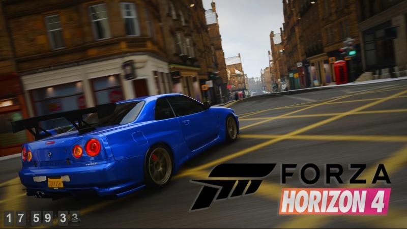 LIVE Forza Horizon 4 Продолжение безумия Logitech g27 в кокпите