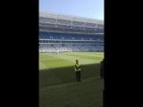 Тренировка сборной России по футболу на стадионе Калининград