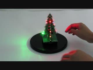 Рождественская светодиодная елка 3D