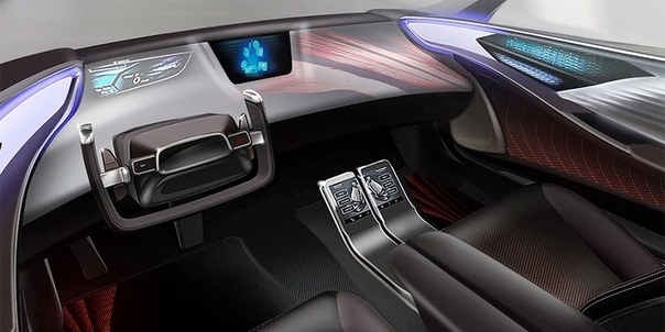 Toyota показала интерьер будущих беспилотников.