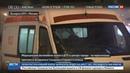 Новости на Россия 24 • На Садовом кольце скорая помощь перевернулась от столкновения с Porsche Cayenne