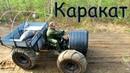 Доставка караката переломка на дизельном ГАЗоне на рыбалку