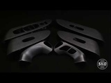Аквапринт Nissan Murano в матовый алюминий.