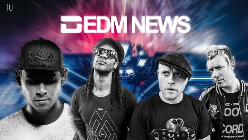 EDM News 10 (RU) - Afrojack, The Prodigy, Ultra Music Festival