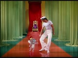 Gene Kelly dances with Jerry the Mouse in