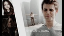 Stefan Salvatore Kara Danvers She does not just look like me