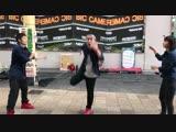【ダブルダッチ】 『跳ビ方ノススメ』 桃太郎市_出張まちなか大学祭@岡山駅前商店街