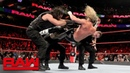 "WBSOFG Braun Strowman's pack"" implodes during battle with The Shield Raw Oct 15 2018"