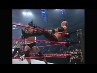 FULL-LENGTH MATCH - Raw - Goldberg, Shawn Michaels  RVD vs. Batista, Randy Orton  Kane