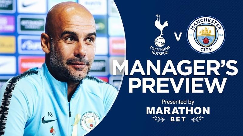 Pep Guardiola previews Spurs v City | PRESS CONFERENCE