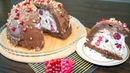 Торт мороженое Черный лес / Ice cream cake Black forest - Я - ТОРТодел!