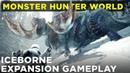 Monster Hunter World Iceborne gameplay preview Hunting the Banbaro