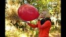 Vanja zeigt hier mal wieder mittels eines riesigen Luftballons was Nichtraucher zu leisten vermögen