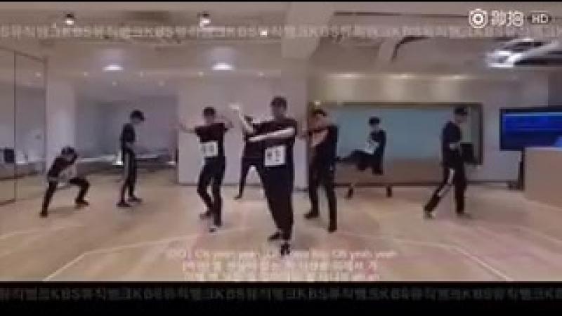DANCE PRACTICE 160817 EXO Lotto