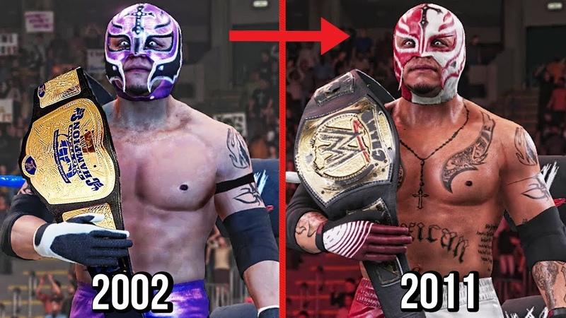 WWE 2K19 All Rey Mysterio Championships Wins In WWE!