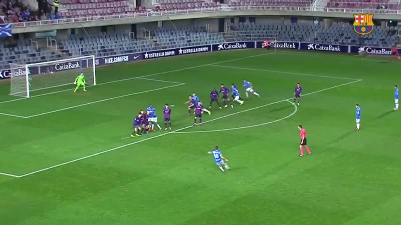 [HIGHLIGHTS] Reviu l'emocionant victòria d'ahir del Barça B contra el Lleida 2-1, amb gol.mp4