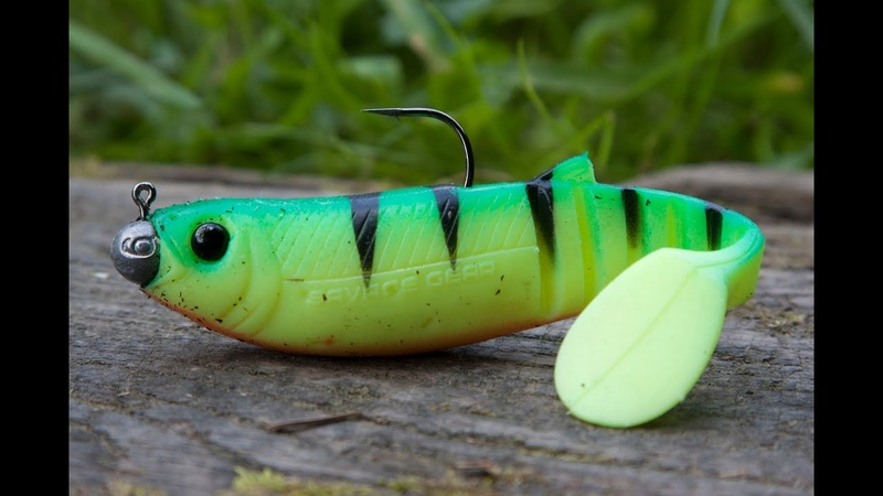 Savage gear Cannibal shad Vs. Pike; The Bushwhacker test HD