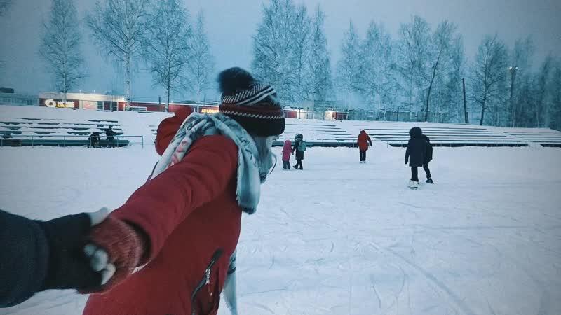 Новогодние каникулы на катке в Красноуральске