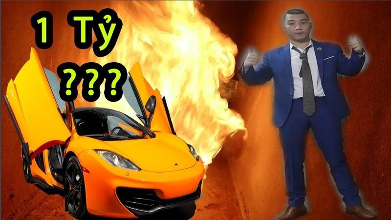 Phá Hủy Chiếc Xe Ô Tô Giá Trị 1 Tỷ Với 10.000 Que Diêm - Burn Super Car